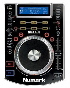 Numark NDX 400 - odtwarzacz MP3/CD/USB