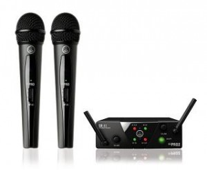 AKG WMS 40 MINI 2 Dual Vocal Set