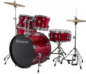 LUDWIG ACCENT FUSE 5pc Red LC17014