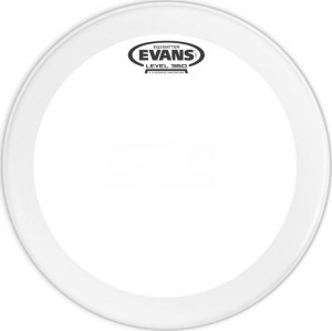 "Evans 18"" EQ3 Coated Clear"