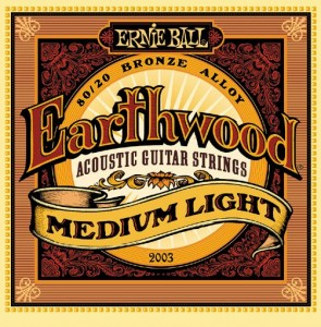 Ernie Ball 2003 Earthwood 12-54