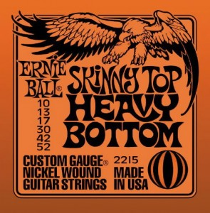 Ernie Ball 2215 10-52 Skinny Top Heavy Bottom