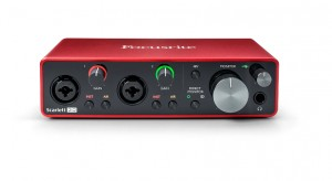 FOCUSRITE SCARLETT 2i2 3rd Gen INTERFACE AUDIO USB + ABLETON+PRO TOOLS
