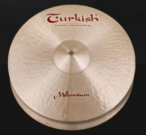 Turkish Millennium HiHat 14""