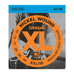 Daddario EXL110 - XL Nickel Wound 10-46